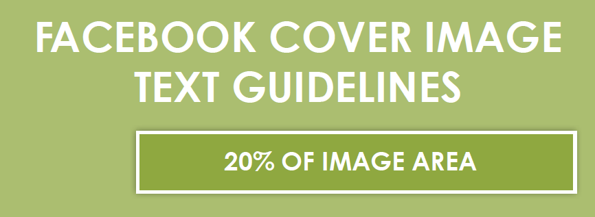 Facebook Cover Image 20% Guideline
