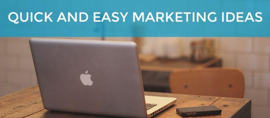 quick-easy-marketing-ideas